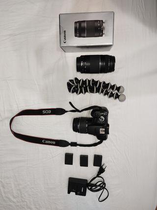 Pack Camara Reflex Canon EOS 1300D