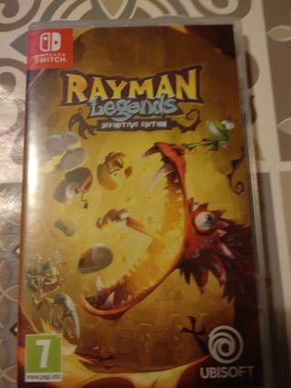 Nintendo switch juego Rayman