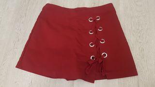 Falda Pantalón Granate