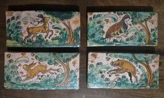 azulejos de barro artesanales