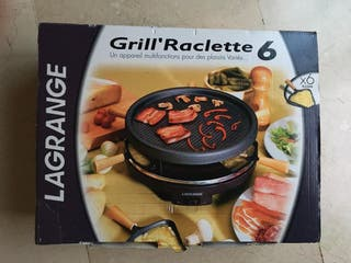 GRILL RACLETTE 6