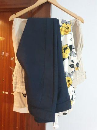 4 pantalones