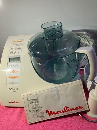 Robot de cocina Moulinex genius 200