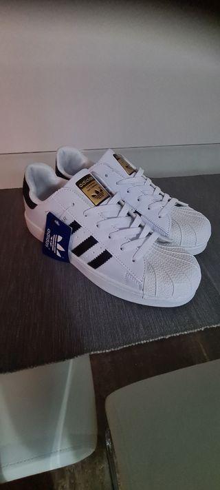 Adidas Superstar Nuevas Con Etiqueta.