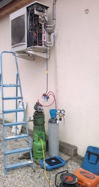 Recargas de gas,montaje aire acondicionado