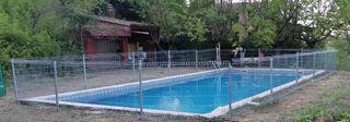 Valla galvanizada para piscina