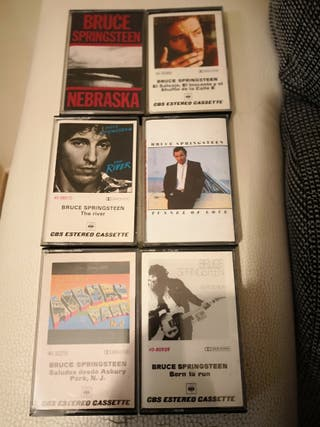 Cassette de Bruce Springsteen