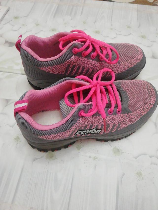 zapatillas de seguridad. talla 37