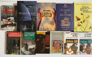 Lote 11 libros