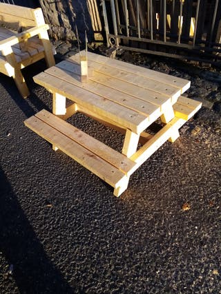 1m kids picnic table
