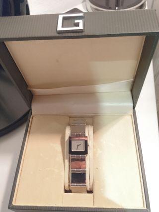 Reloj Gucci (orig.) totalmente en acero inoxidable
