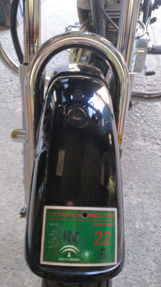YAMAHA SR ESPECIAL 250