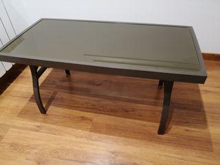 mesa de centro rectangular para terraza