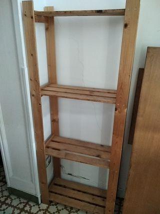 Estante madera