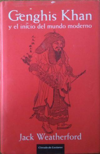 Genghis Khan y el inicio del mundo moderno libro
