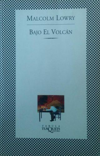 Bajo el volcan libro