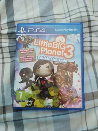 juego little big planet 3 para ps4