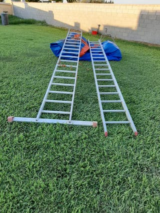 escalera telescópica marca escalibur