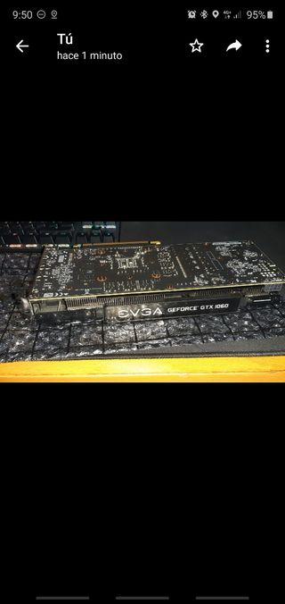 tarjeta gráfica EVGA SSC DT GTX 1060 6GB G