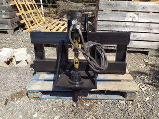 Ahoyador hidraulico para tractor