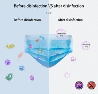 Bolsa esterilizadora desinfectante uv