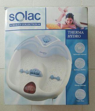Solac Therma Hydro, masajeador de pies