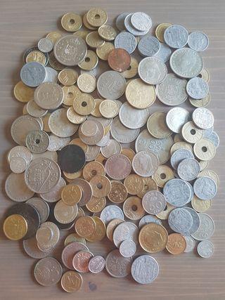 lote de 166 monedas españolas