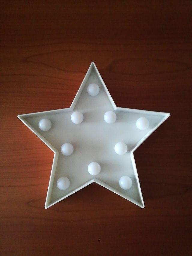 Estrella decoración