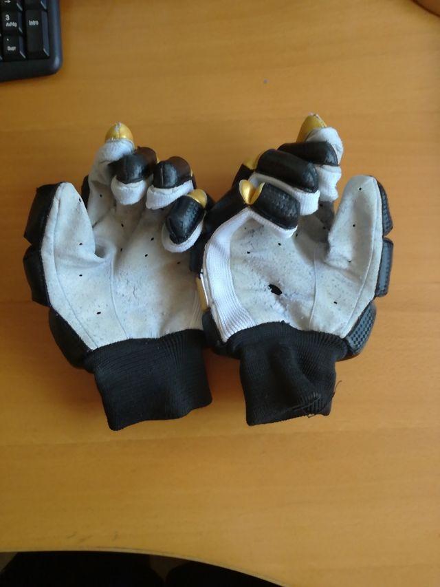 guantes hockey talla alevín/benjamin