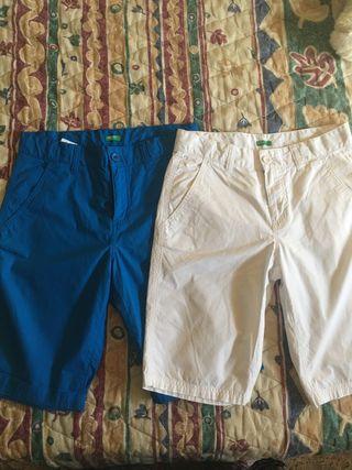 Bermudas pantalones niño Benetton 11-12 nuevos