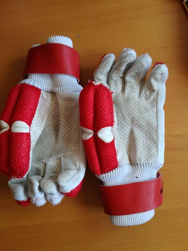 guantes hockey talla Benjamín
