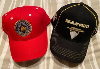 2 gorras Bultaco. Nuevas.