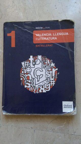 libro de valenciano 1º bachillerato