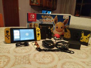 Nintendo switch + juegos y complementos