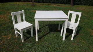 mesa y sillas ikea niños