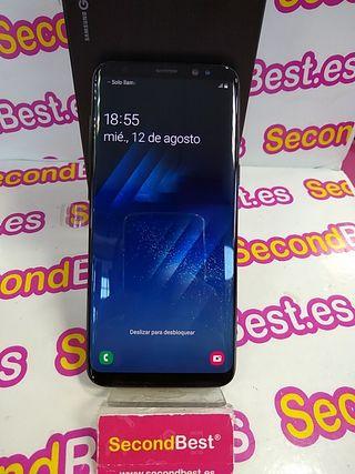 Móvil Samsung Galaxy S8 con caja y cargador