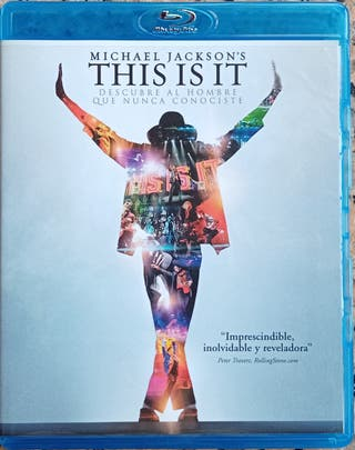 "MICHAEL JACKSON BLURAY "" THIS IS IT """