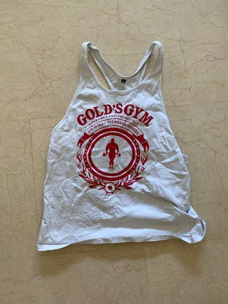 Camiseta Gym Gold's Gym
