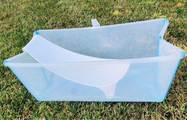 Bañera STOKKE flexi bath y soporte para bebés