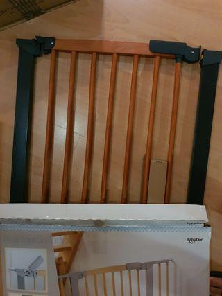 barrerra valla madera escalera o puerta