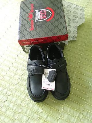 zapatos mocasines niño talla 31