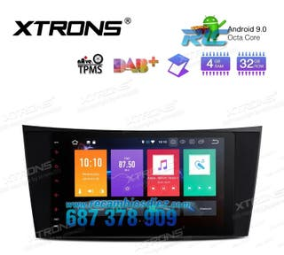 """RADIO GPS 8"""" ANDROID 9.0 OCTA-CORE GPS MERCEDES-BE"""