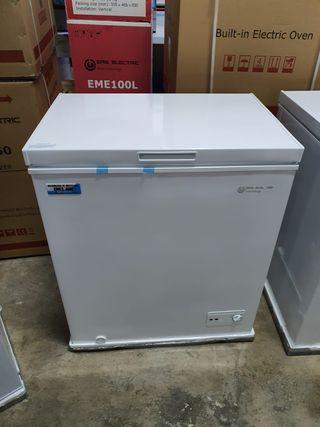 Arcón congelador 150 litros Nuevo A+