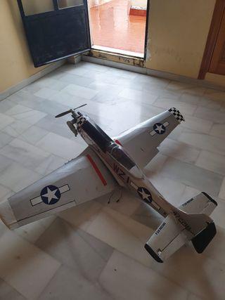 Avión radiocontrol gasolina