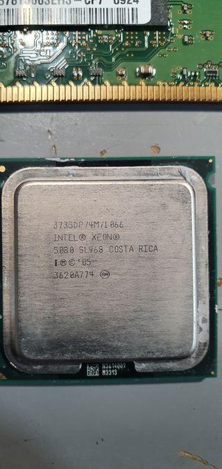 procesadores y memorias pc