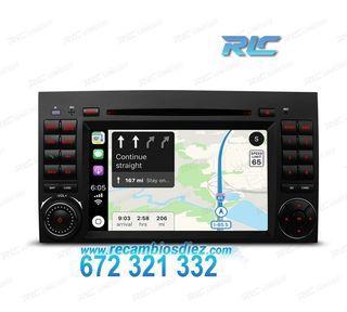 "RADIO GPS ANDROID9 PANTALLA 7"" MERCEDES USB GPS TA"