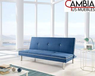 Sofá cama Sol en Azul