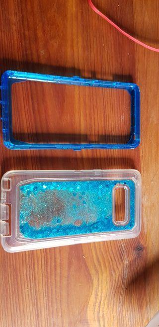 Funda dos piezas purpurina Samsung Galaxy Note 8