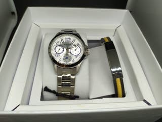 Reloj de comunión con pulsera a juego Duward