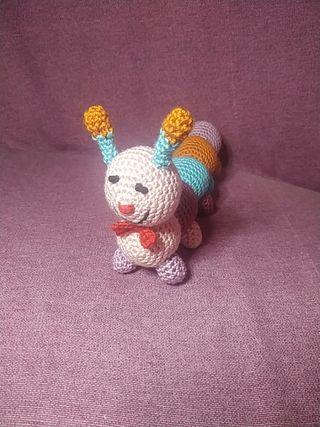muñeco de crochet
